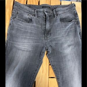 Lucky Brand 223 Straight Charcoal Denim